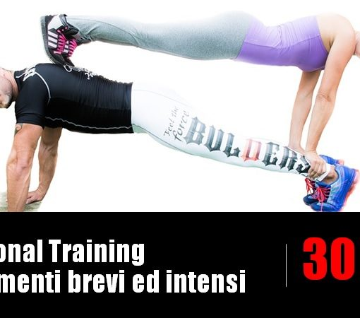 functional training allenamenti brevi ed intensi
