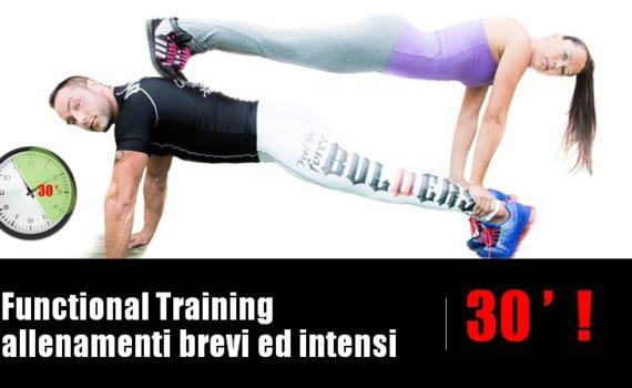 functional training allenamenti brevi ed intensi